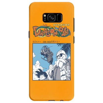 Muten Roshi Samsung Galaxy S8 Case Designed By Paísdelasmáquinas