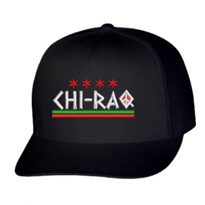 Chi-ra Embroidered Hat Trucker Cap Designed By Madhatter