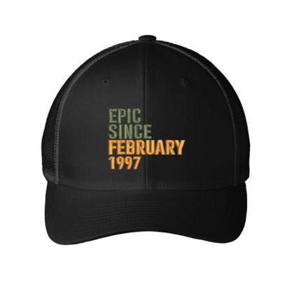 February 1997 Embroidered Hat Embroidered Mesh Cap Designed By Madhatter