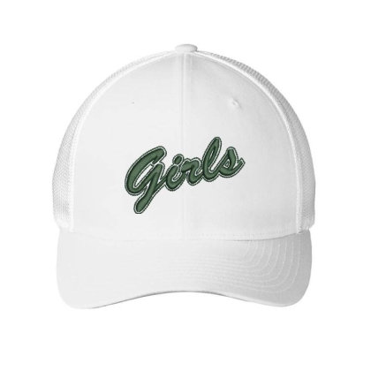 Girls Embroidered Hat Embroidered Mesh Cap Designed By Madhatter