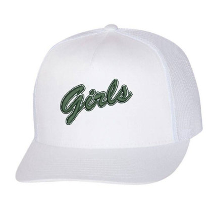 Girls Embroidered Hat Trucker Cap Designed By Madhatter