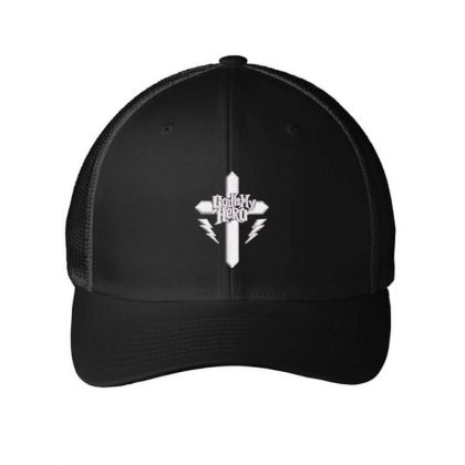 Hero Embroidered Hat Embroidered Mesh Cap Designed By Madhatter