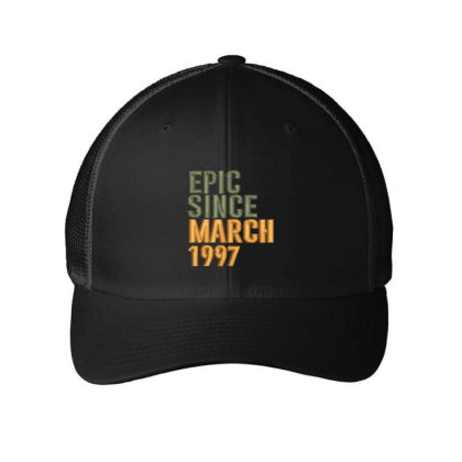 March 1997 Embroidered Hat Embroidered Mesh Cap Designed By Madhatter