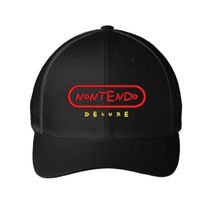 Nontendo Embroidered Hat Embroidered Mesh Cap Designed By Madhatter
