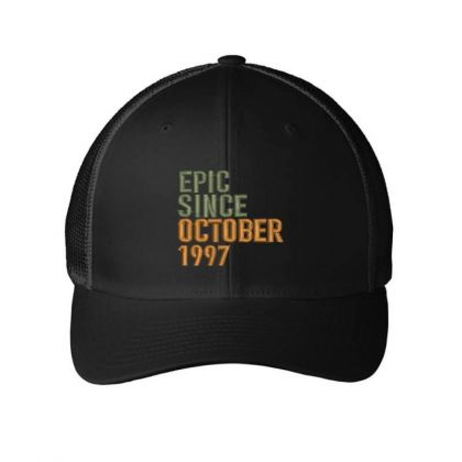 October 1997 Embroidered Hat Embroidered Mesh Cap Designed By Madhatter