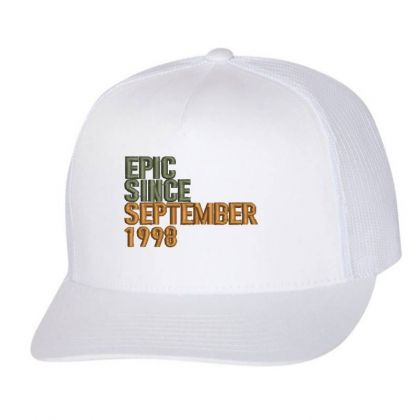 September 1998 Embroidered Hat Trucker Cap Designed By Madhatter