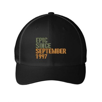 September 1997 Embroidered Hat Embroidered Mesh Cap Designed By Madhatter