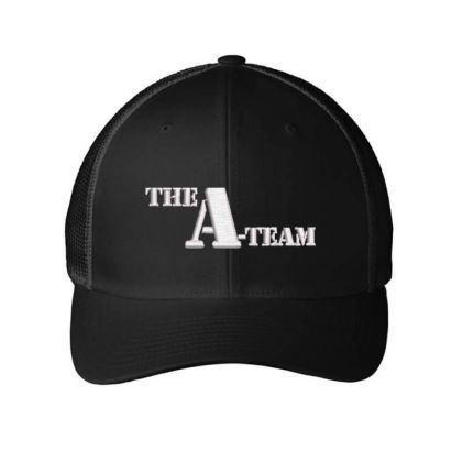 The A-team Embroidered Hat Embroidered Mesh Cap Designed By Madhatter