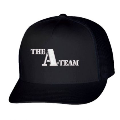 The A-team Embroidered Hat Trucker Cap Designed By Madhatter