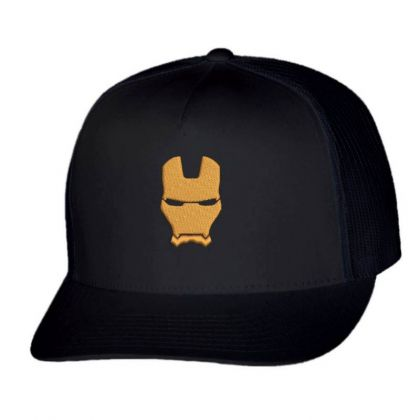 Iron Man Embroidered Hat Trucker Cap Designed By Madhatter