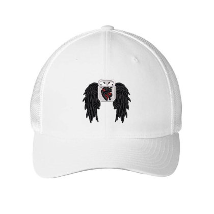 Owl Embroidered Hat Embroidered Mesh Cap Designed By Madhatter