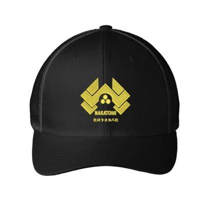 Nakatomi Embroidered Hat Embroidered Mesh Cap Designed By Madhatter