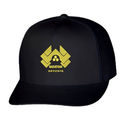 Nakatomi Embroidered Hat Trucker Cap Designed By Madhatter