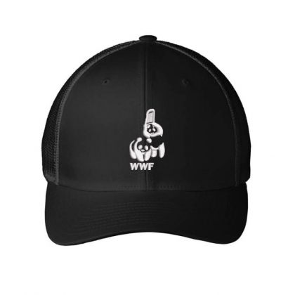 Wwf Embroidered Hat Embroidered Mesh Cap Designed By Madhatter