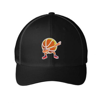 Basketball Embroidered Hat Embroidered Mesh Cap Designed By Madhatter
