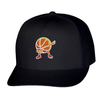Basketball Embroidered Hat Trucker Cap Designed By Madhatter