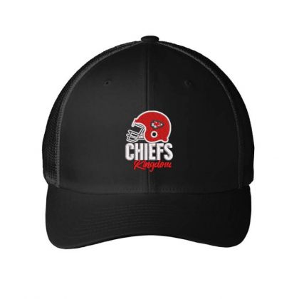 Chiefs Embroidered Hat Embroidered Mesh Cap Designed By Madhatter