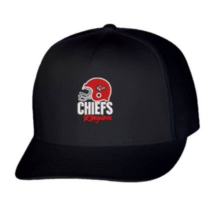 Chiefs Embroidered Hat Trucker Cap Designed By Madhatter