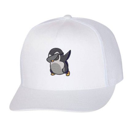 Penguin Embroidered Hat Trucker Cap Designed By Madhatter