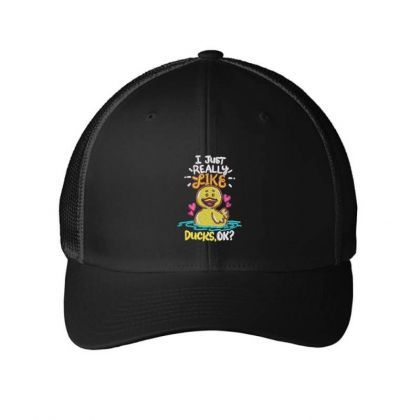 Like Duck Embroidered Hat Embroidered Mesh Cap Designed By Madhatter