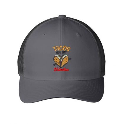 Tacos Embroidered Hat Embroidered Mesh Cap Designed By Madhatter
