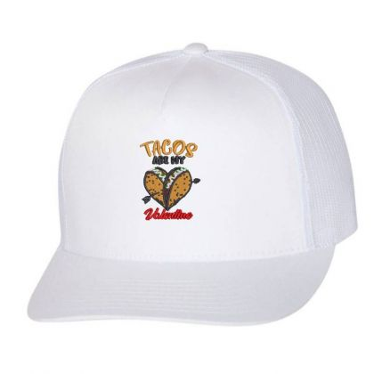Tacos Embroidered Hat Trucker Cap Designed By Madhatter