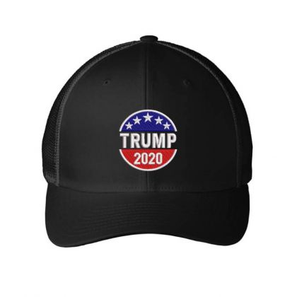Trump 2020 Embroidered Hat Embroidered Mesh Cap Designed By Madhatter