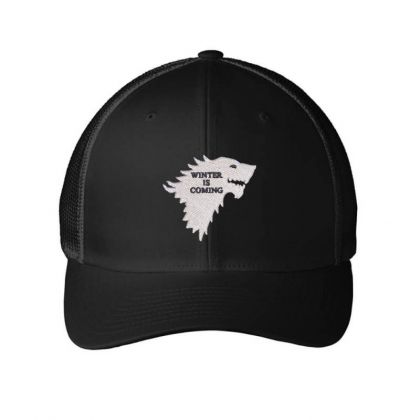 Winter Embroidered Hat Embroidered Mesh Cap Designed By Madhatter