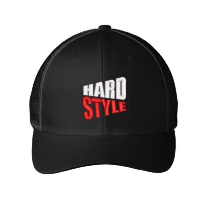 Hard Style Embroidered Hat Embroidered Mesh Cap Designed By Madhatter