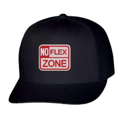 No Flex Embroidered Hat Trucker Cap Designed By Madhatter