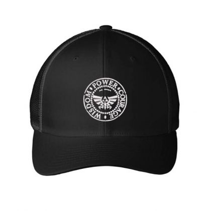Power Embroidered Hat Embroidered Mesh Cap Designed By Madhatter