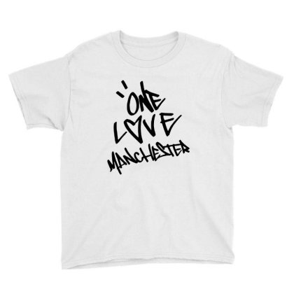 Ariana Grande One Love Manchester   For Light Youth Tee Designed By Suettan