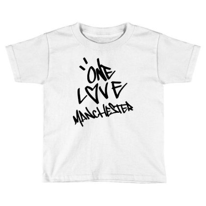 Ariana Grande One Love Manchester   For Light Toddler T-shirt Designed By Suettan