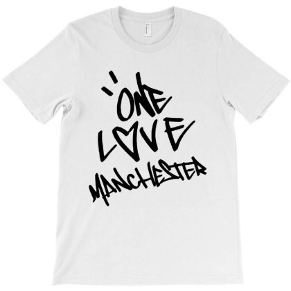 Ariana Grande One Love Manchester   For Light T-shirt Designed By Suettan