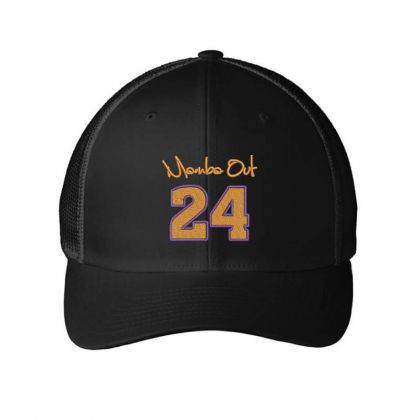 Momba Out 24 Embroidered Hat Embroidered Mesh Cap Designed By Madhatter