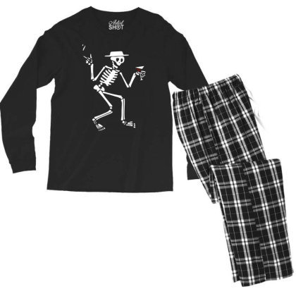 Social Distortion Fan Men's Long Sleeve Pajama Set Designed By Ronandi