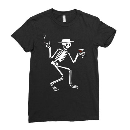 Social Distortion Fan Ladies Fitted T-shirt Designed By Ronandi
