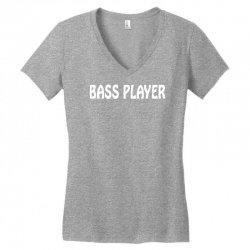 bass player Women's V-Neck T-Shirt | Artistshot