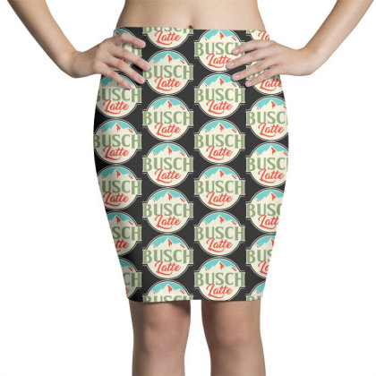 Vintage Busch Light Busch Latte Pencil Skirts Designed By Joo Joo Designs