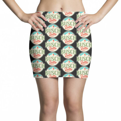 Vintage Busch Light Busch Latte Mini Skirts Designed By Joo Joo Designs
