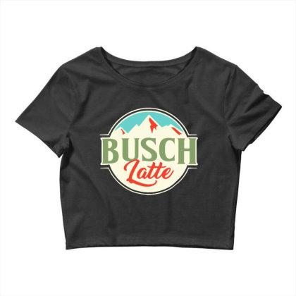 Vintage Busch Light Busch Latte Crop Top Designed By Joo Joo Designs