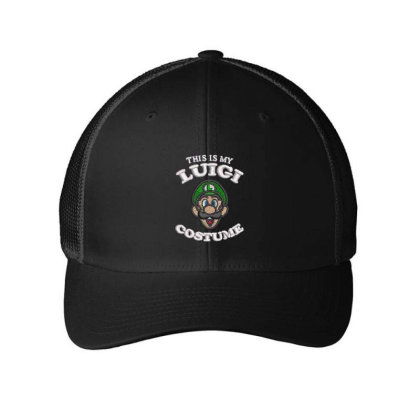 Luigi Embroidered Hat Embroidered Mesh Cap Designed By Madhatter