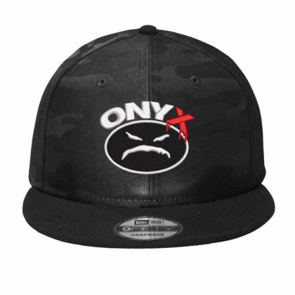 Onyx Embroidered Hat Camo Snapback Designed By Madhatter