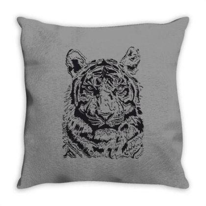 Tiger Throw Pillow Designed By Estore
