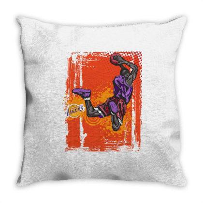 Basketball Sport Throw Pillow Designed By Estore