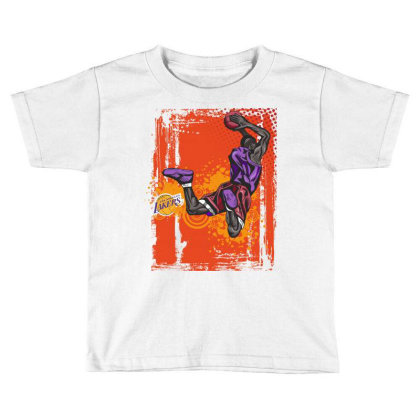 Basketball Sport Toddler T-shirt Designed By Estore