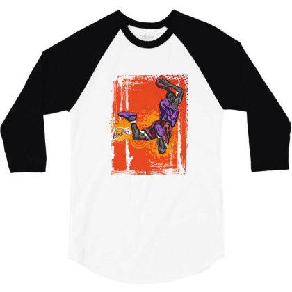 Basketball Sport 3/4 Sleeve Shirt Designed By Estore