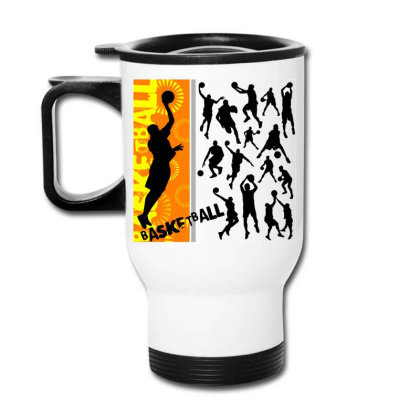 Basketball Sport Travel Mug Designed By Estore