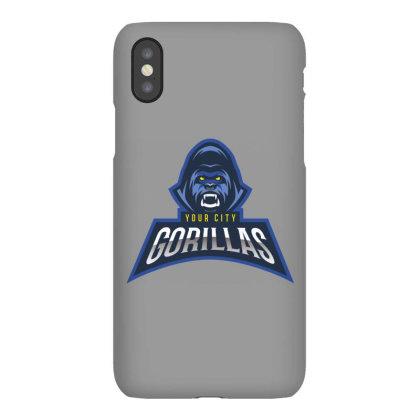 Gorilla Iphonex Case Designed By Estore