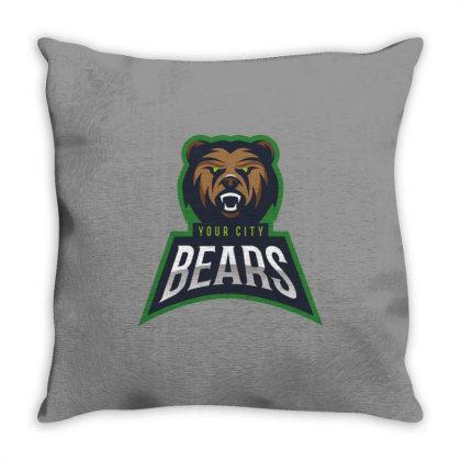 Bear Throw Pillow Designed By Estore